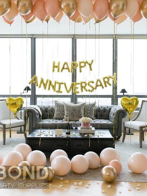 Anniversary Balloon Decor - S