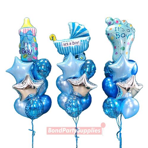 Its A Boy Balloon Set (3)