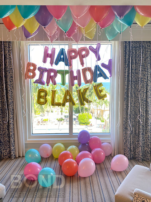 Birthday Surprise Decor -H2
