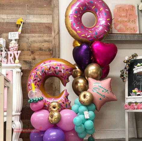 Donut Balloon Scultpure