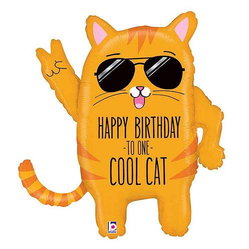 "Cool Cat Birthday (33"")"