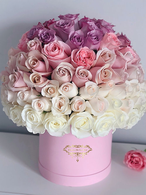 Ombre Style Roses