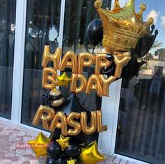 Birthday Gent Balloon Scultpure