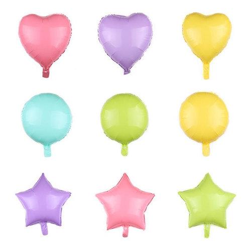 Pastel Foil Stars & Hearts