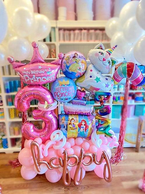 Birthday Princess Balloon Sculpture