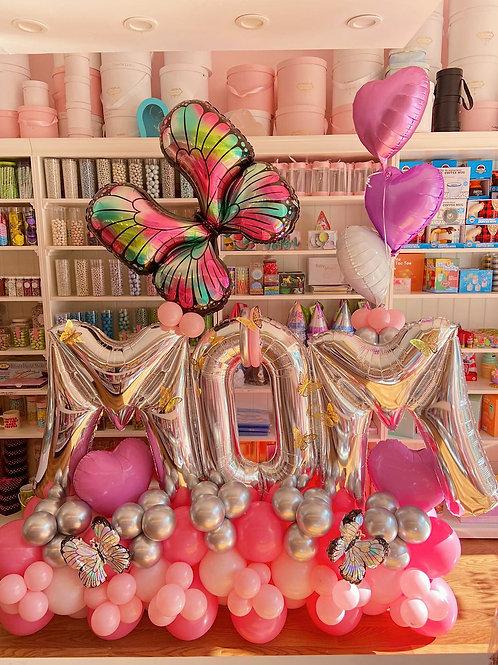Sweetest Mom -  Balloon Sculpture