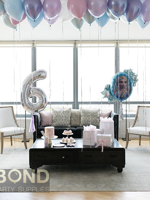 Frozen Birthday Surprise Decor -S