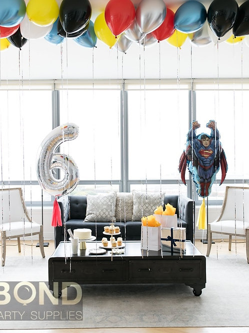 Superhero Birthday Surprise Decor -S