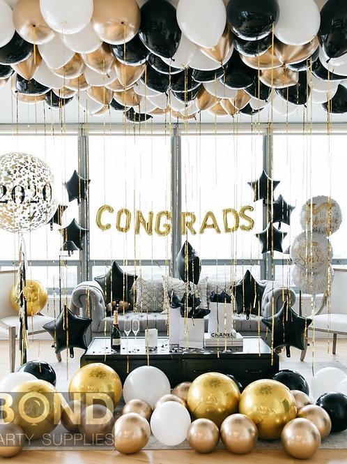 Congrats Balloon Decor -L