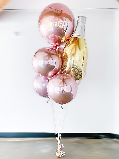 """Pop It!""   - Personalizable Balloon Bouquet"