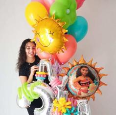 Moana Balloon Scultpure