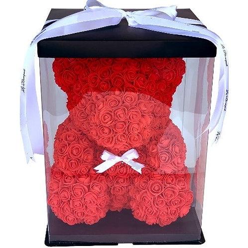 Flower Bear (M) - Red