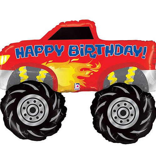 "Monster Truck Birthday (35"")"