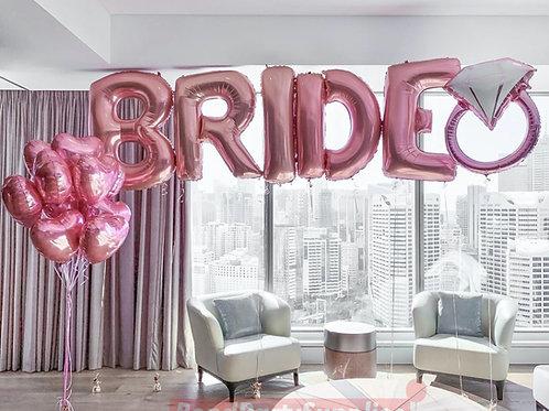 Bride Balloon Set S3