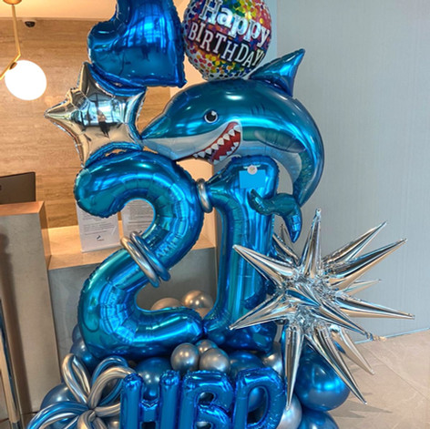 Ocean them Balloon Creative Sculpture.JP