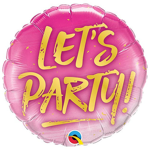 Lets Party Balloon