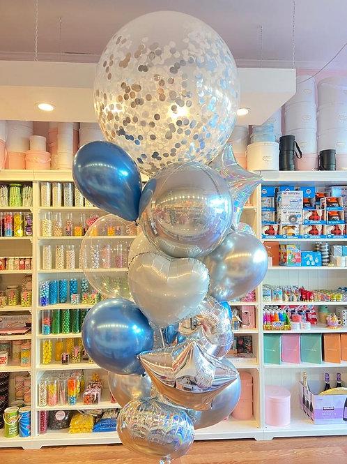 Hibiscus Balloon Bouquet