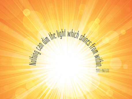 You are a being of light!