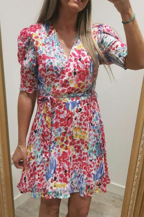 Rhonda Colourful Mini Dress