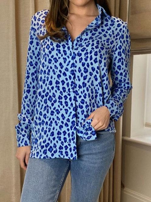 Elizabeth Blue Animal Shirt