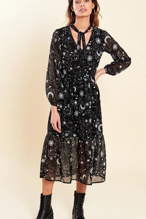 Leola Stars and Moon Dress