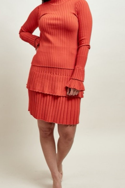 Izra Two Piece in Burnt Orange