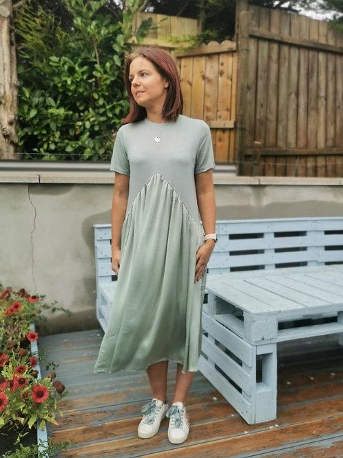 Darcey Dress in Mint