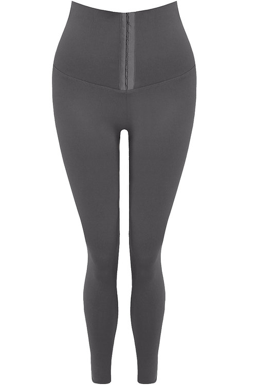 Charlie Corseted Leggings in Grey