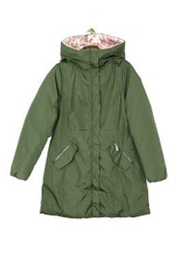 Freya Reversible Khaki/Pink Coat