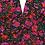 Thumbnail: Lynsey Plunge Neck Floral Longsleeve Top
