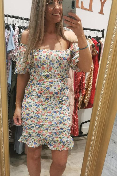 Kayla Floral Mini Dress