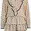 Thumbnail: Jayne Blouse and Skirt Spot Two Piece in Beige