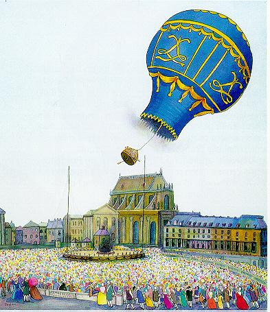 Versailles, a Sheep, a Cock and a Duck Are Airborne 1783, 1999
