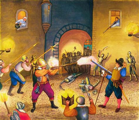 Combats a la Porte de la Monnaie, 2005