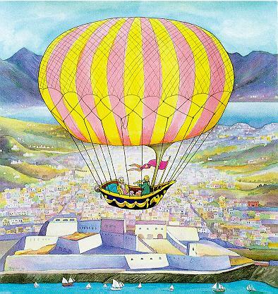 Francois Robert over Marseilles 1783, 1999