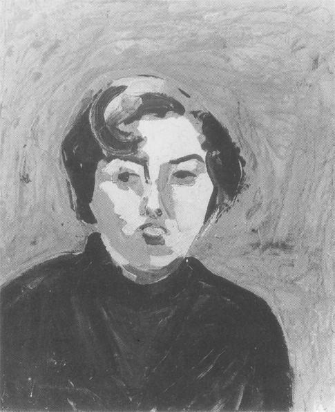 Pouting Girl, 1954