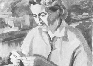 Portrait of Lotte, 1951