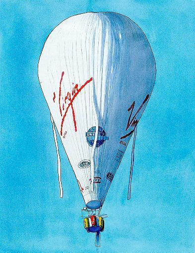 Virgin Global Challenger 1987, 1999
