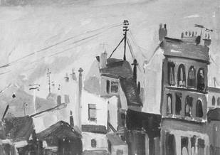 Place Clignancourt, 1955