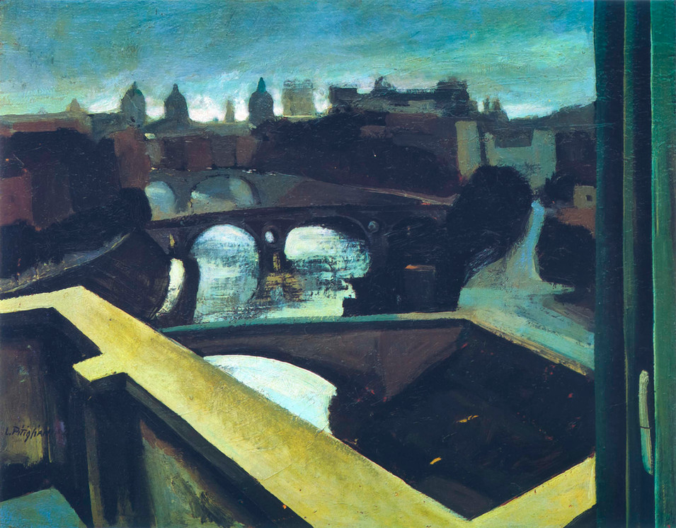 The Tiber from the Terrace, 1954