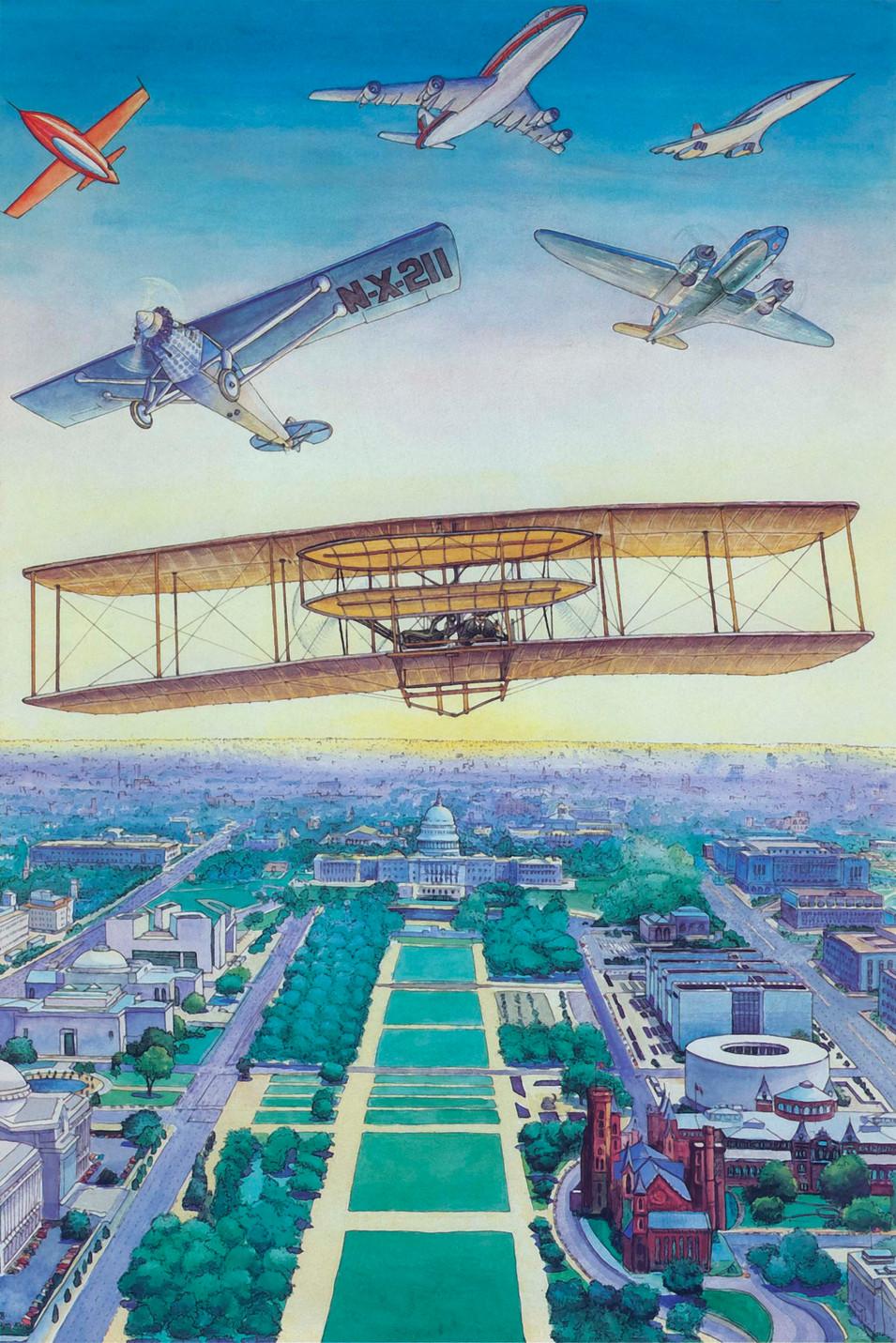 Anniversary of Powered Flight, 1978