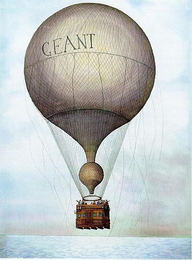 Nadar's le Geant, 1858