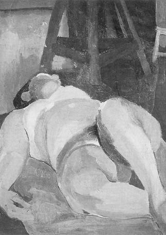 Reclining Nude, 1953