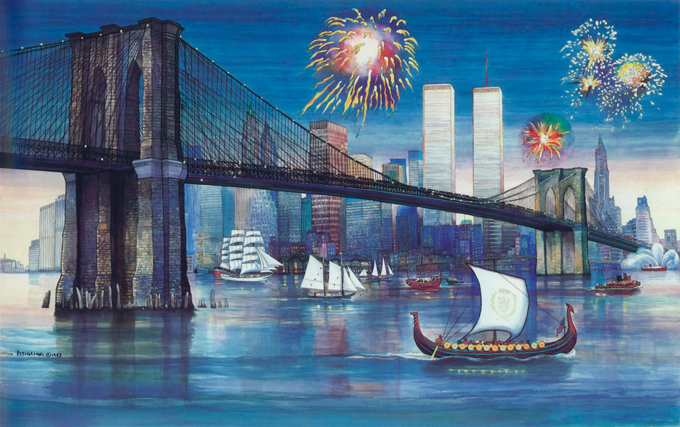 Brooklyn Bridge Centennial, 1983
