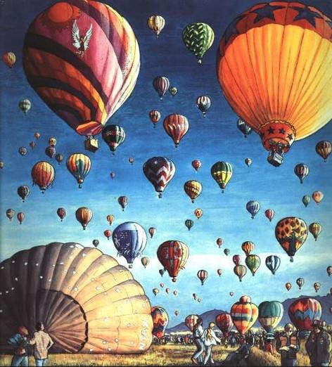 Albuquerque Balloon Festival, 1999