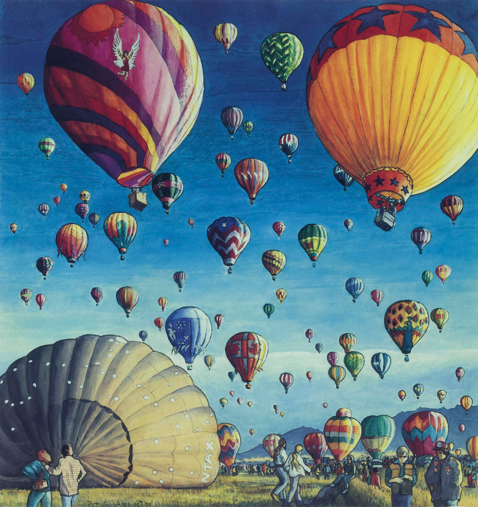 Hot Air Balloon Festival, 1979