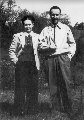 Parents Nelly Van Straten and Fausto Pitigliani