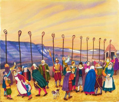 Les Tetes des Ennemies, 2005