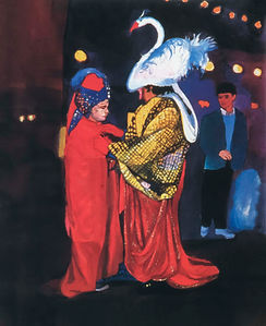Swan Man and Son, 1987