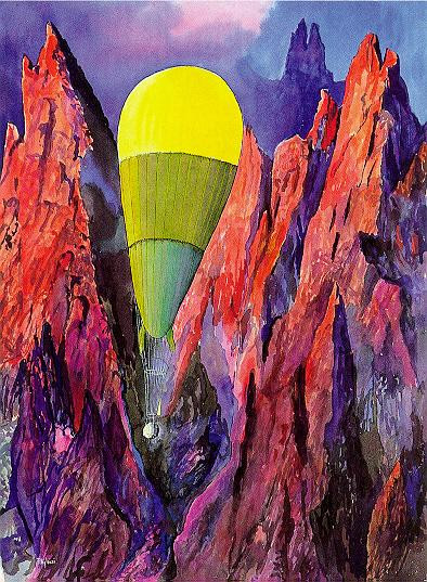 Auguste Piccard's FNRS Balloon 1931, 1999